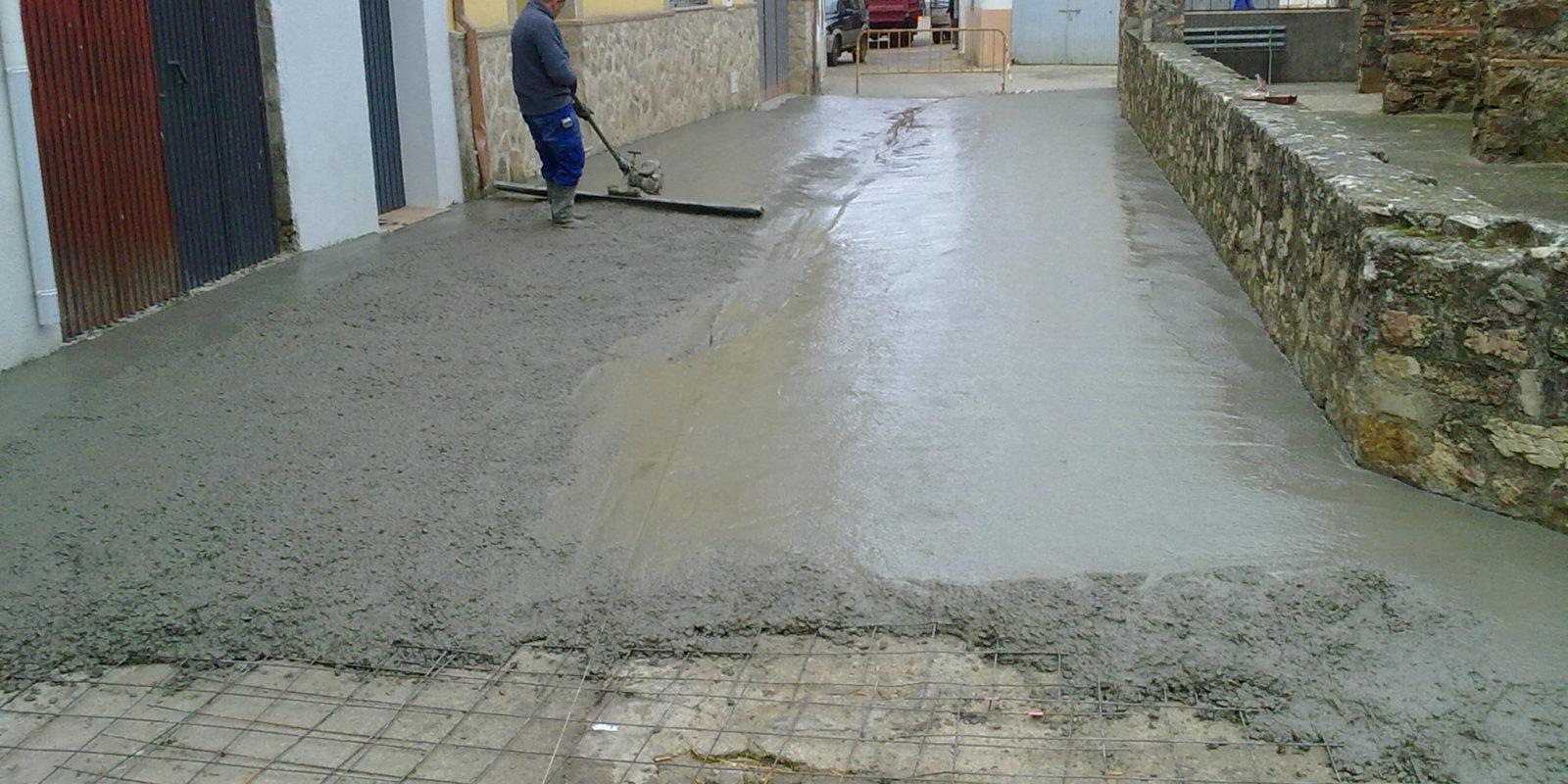 Pavimentaciones Robledollano