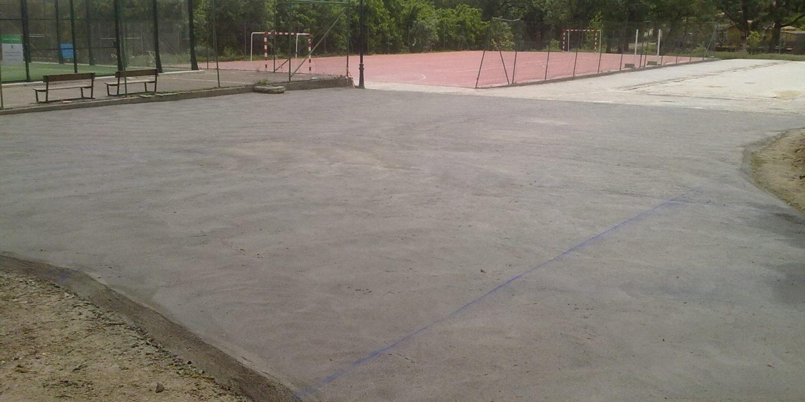 Pavimentaciones instalaciones deportivas Torremenga