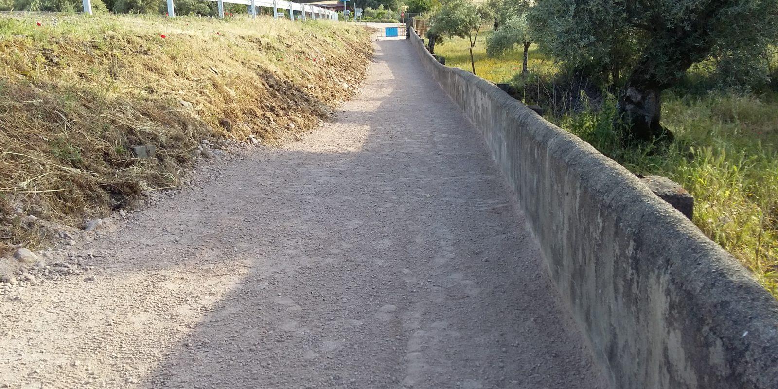 Camino Merendero La Herrumbre. Serrejon