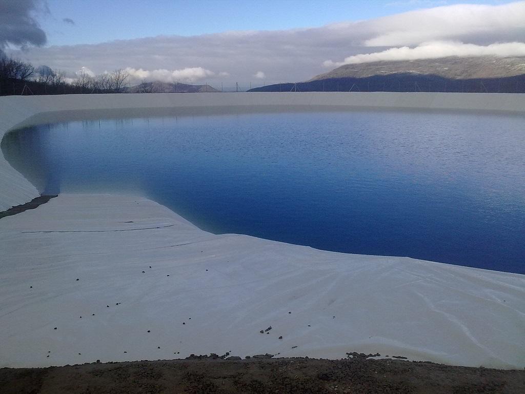 Balsa de almacenamiento y reguración de agua de riego dentro del sector III de la comunidad de regantes de Piornal